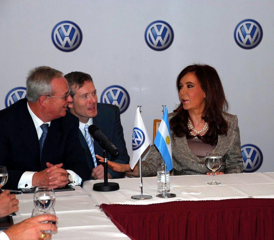 Argentinische Staatspräsidentin zu Besuch im Luisenhof