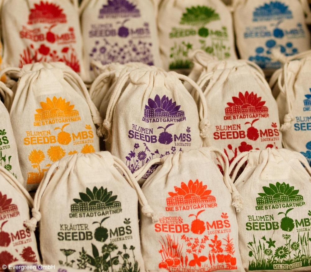 Seed Bombs und Cream Tea mit Scones