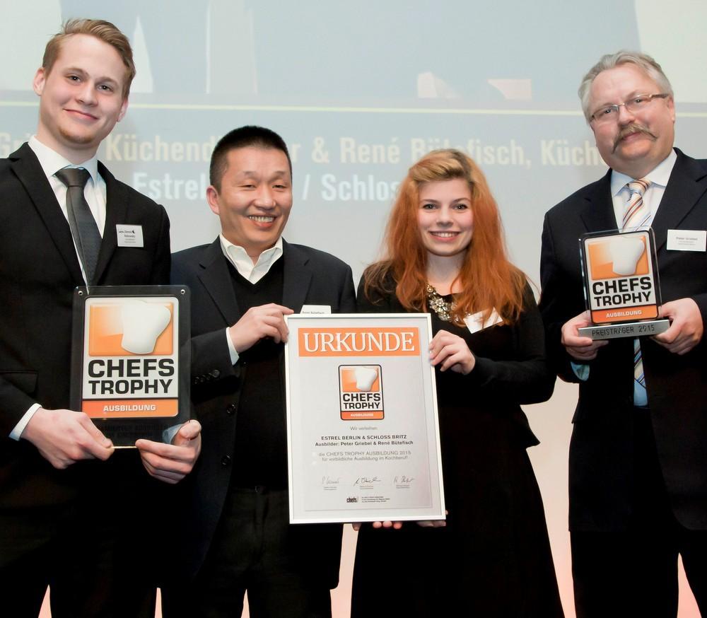 Die Gewinner der CHEFS TROPHY AUSBILDUNG 2015