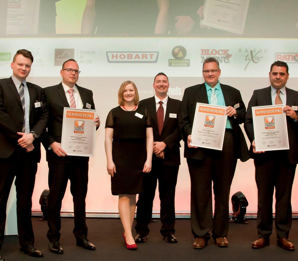 Zum Kreis der Nominierten für die CHEFS TROPHY AUSBILDUNG 2015 gehörten ferner