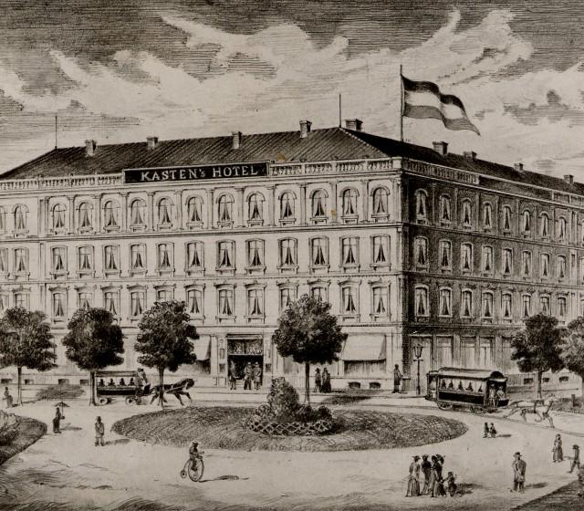 History of Kastens Hotel Luisenhof