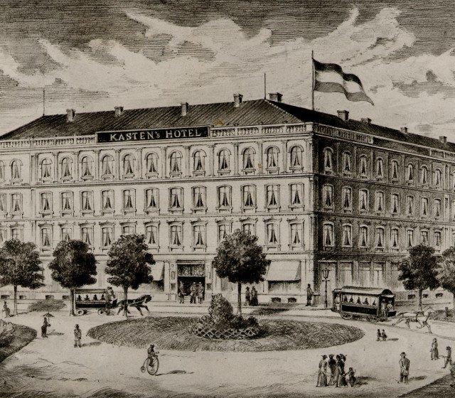 Geschichte des Kastens Hotel Luisenhof