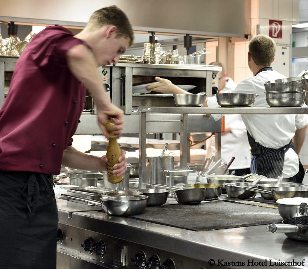 Kochwettbewerb im Kastens Hotel Luisenhof
