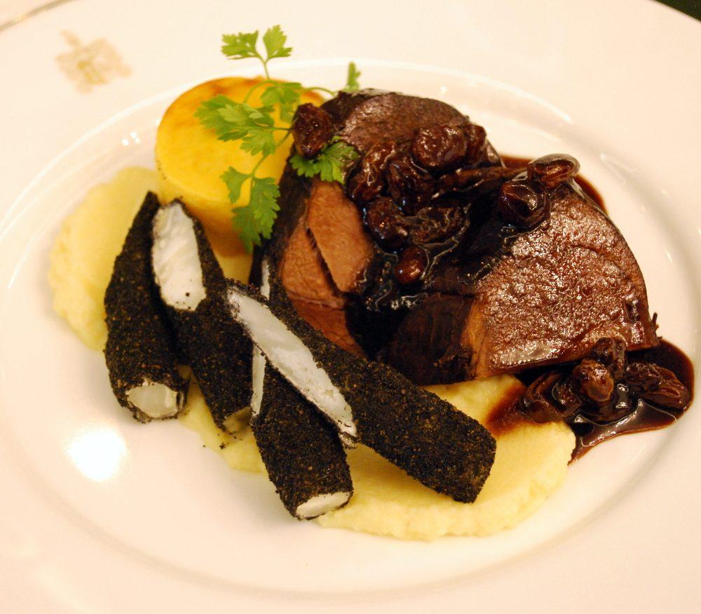Menü des Monats Oktober in MARY´s Restaurant