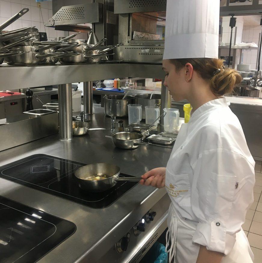 Ein Tag in der Küche