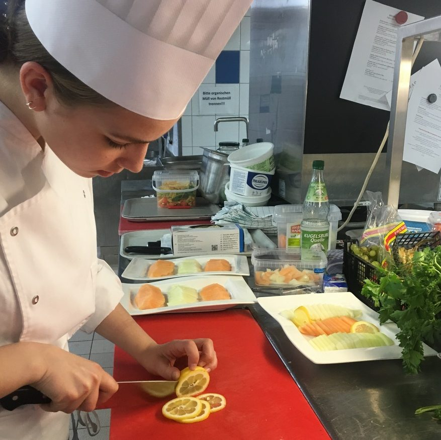 Work & Learn im Luisenhof – Die Küche