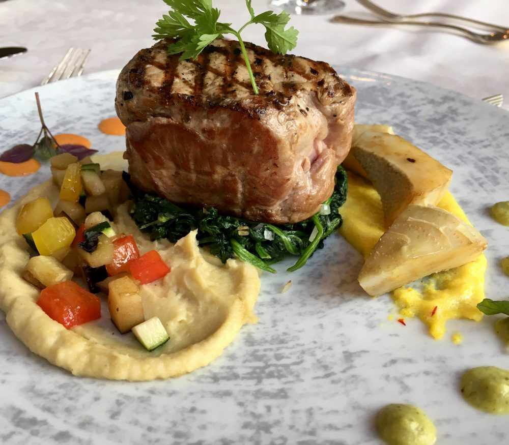 Menü des Monats August in MARY´s Restaurant